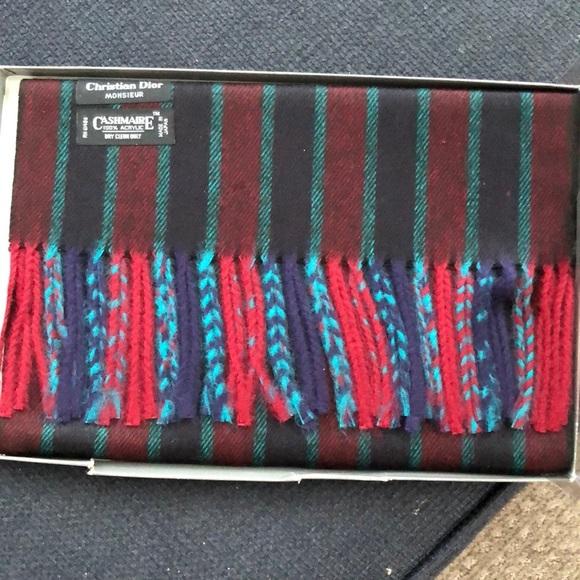 Dior Accessories - Christian Dior cashmere scarf